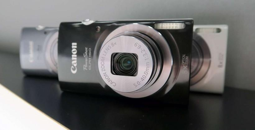 Canon PowerShot ELPH 160, 170 IS hands-on: point and shoot simplicity