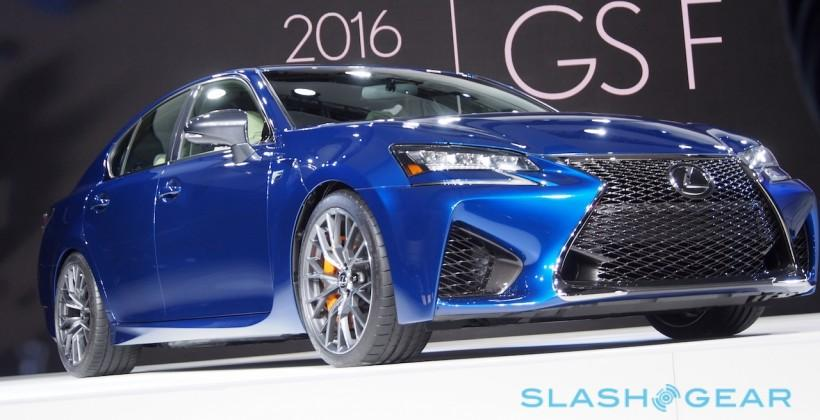 2016 Lexus GS F pairs luxe and lunatic