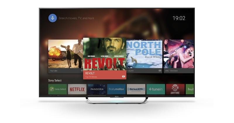Sony 4K Smart TVs hit Android TV hard this year