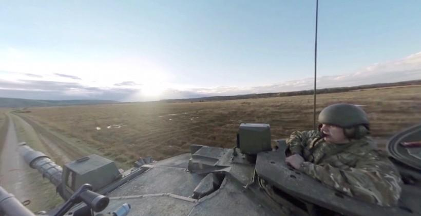 British Army uses Oculus Rift for recruitment with virtual tank