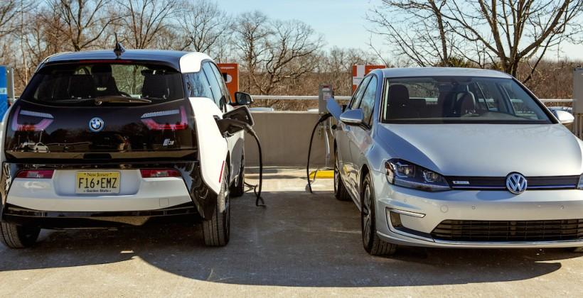 VW, BMW & ChargePoint to build electric vehicle charging stations