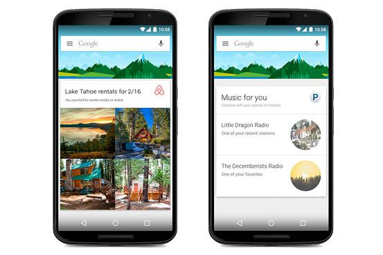 Google Now gets third-party app support with update