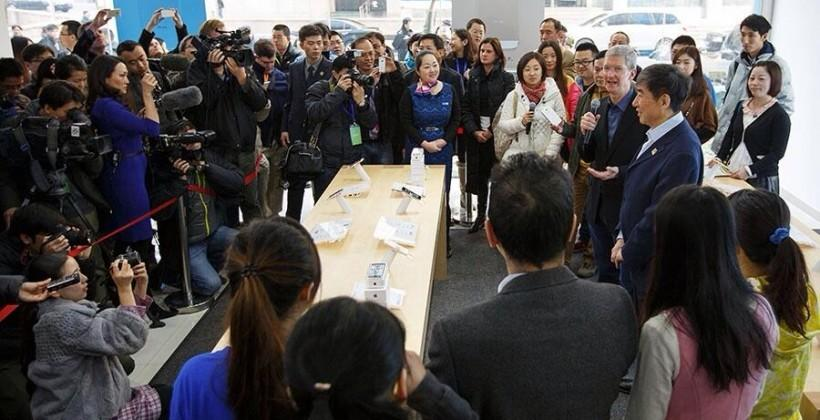 iPhones sales in China likely trump USA
