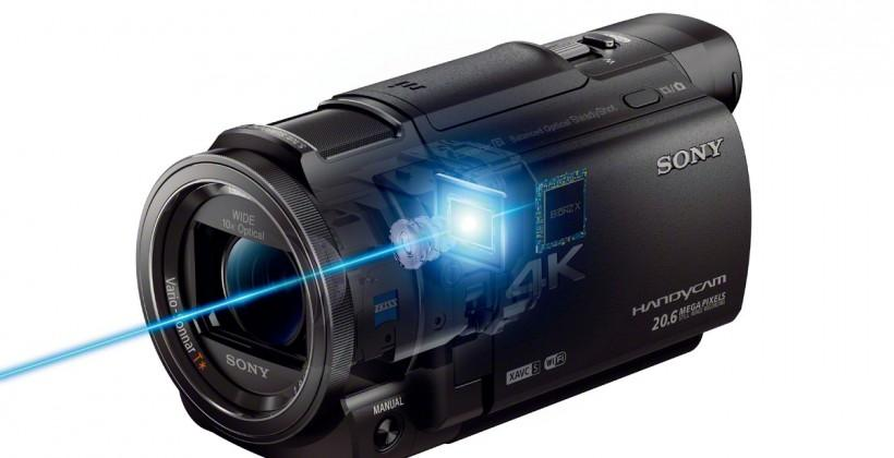 Sony's refreshed Handycam lineup has 4K, new features