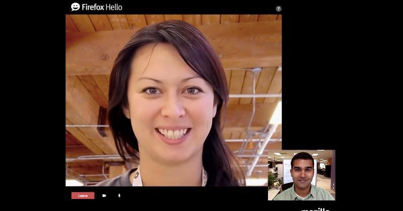 Firefox Hello lets you make video calls without fuss