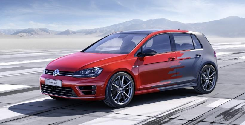 VW Golf R Touch concept previews tomorrow's dash