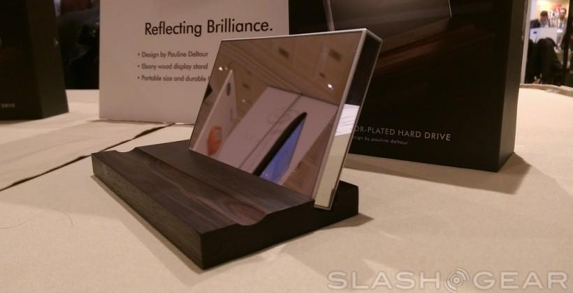 LaCie Mirror Hard Drive hands-on: not to be touched