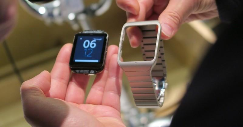 Sony Smartwatch 3 Steel Edition hands-on