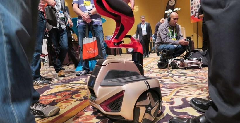 Inmotion v3 Electric Unicycle hands-on: self-balancing and smooth
