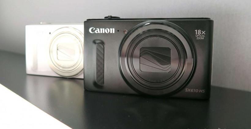 Canon Powershot SX610, SX710, & SX530 hands-on