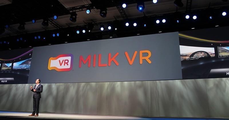 VR TV Episodes headed to Samsung  Milk VR