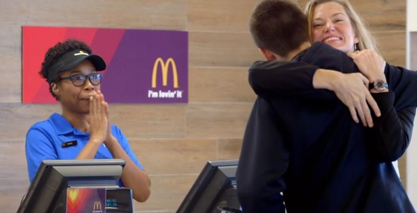 Pay for McDonald's with hugs and dance, says Super Bowl ad