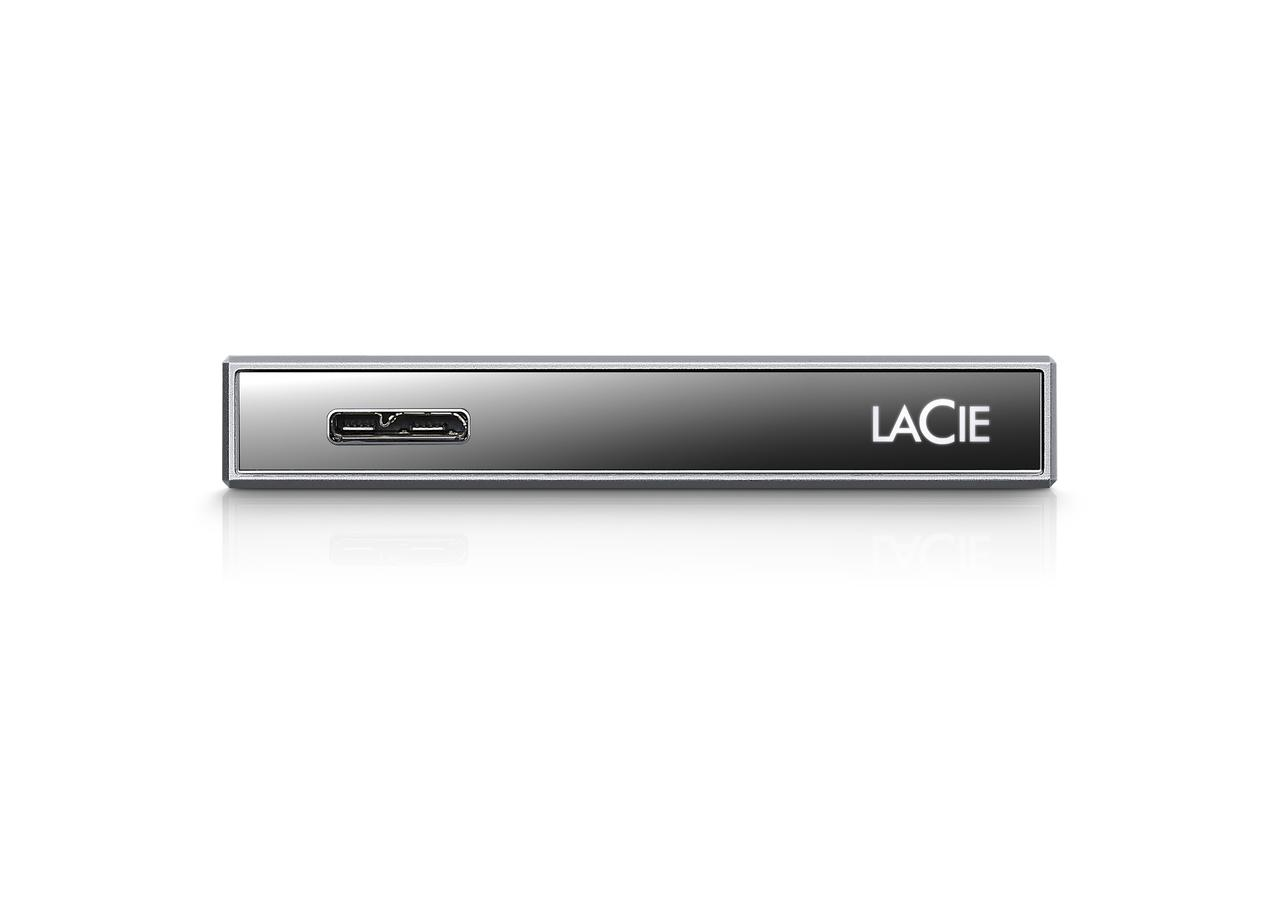 LaCie outs contrasting hard drives: one glamorous, one rugged