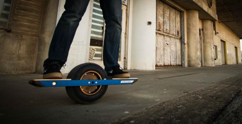 Onewheel skateboard takes boardsport to the next level