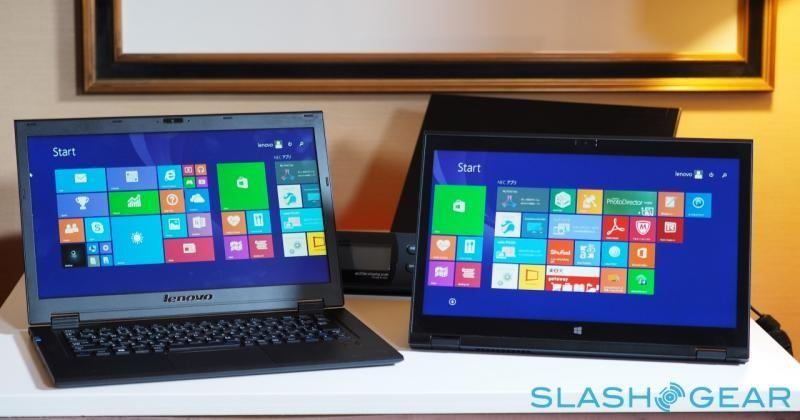 Lenovo ThinkPad YOGA adds RealSense to hybrid hinge