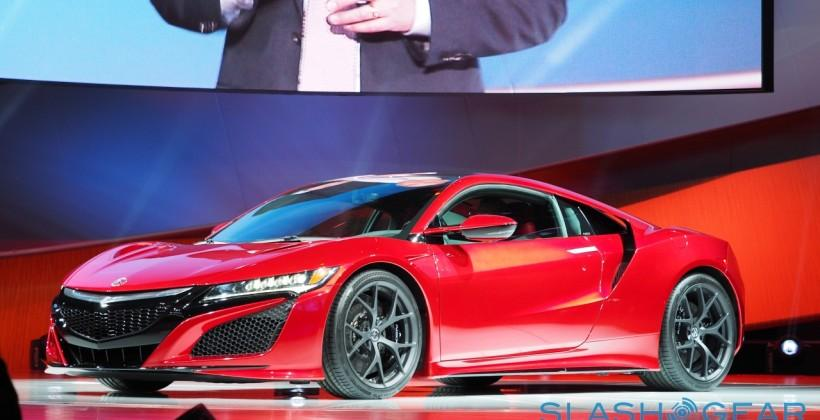 This is it: The 2016 Acura NSX