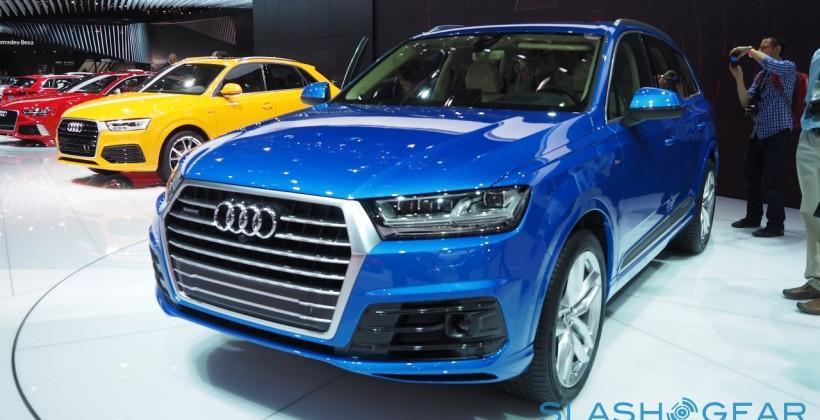 2016 Audi Q7 heads off the next generation