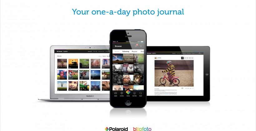 Polaroid, Blipfoto team up for one-a-day photo sharing platform