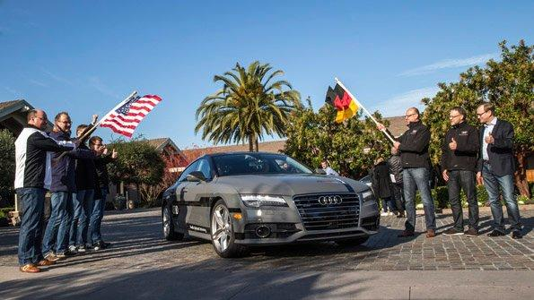'Jack' the piloted Audi A7 is headed to CES 2015