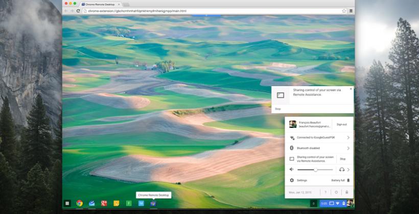 Chrome Remote Desktop sharing hits Chrome OS - SlashGear