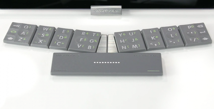 TextBlade promises desktop performance in portable keyboard