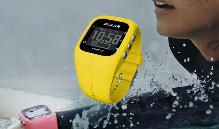 Polar A300 wearable tracks activity and heart rate