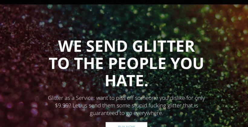ShipYourEnemiesGlitter.com owner selling site, tired of dealing with glitter