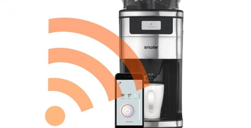 Smarter's new WiFi-enabled coffee machine debuts at CES
