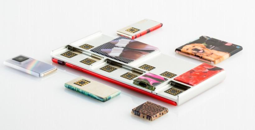 This is Google's new Project Ara modular phone: Spiral 2