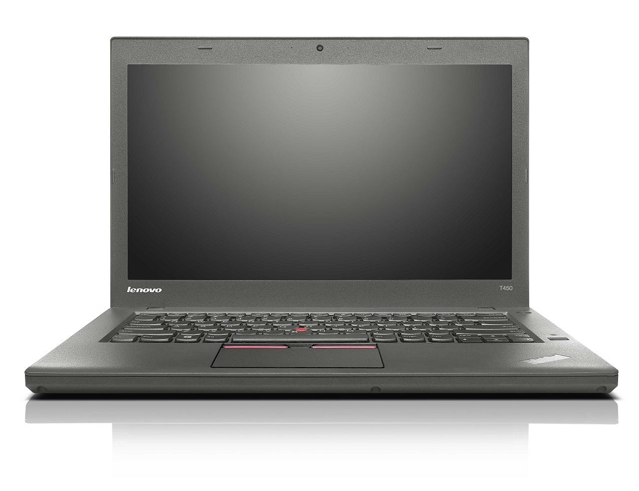 Lenovo ThinkPad T450, T450s and T550: thin notebooks for