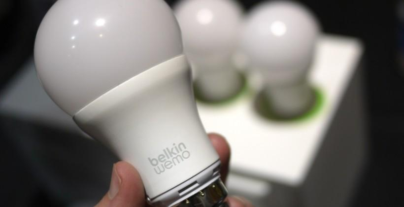 Belkin shows off 8 new WeMo smart bulbs
