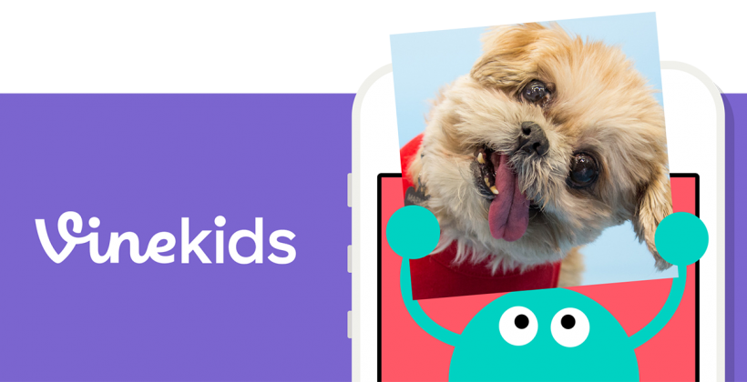 Vine Kids brings curated,  looping videos just for your little ones