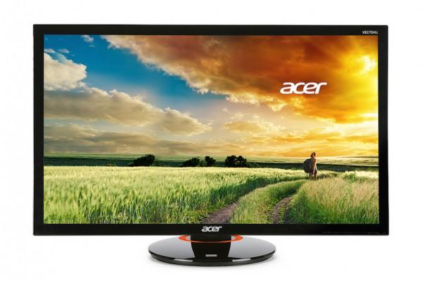 Acer unveils two 27in monitors built for gaming
