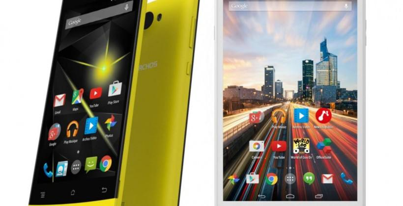 Archos unleashes slew of new 4G devices