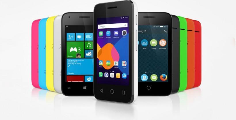 Alcatel Pixi 3 smartphone runs three operating systems