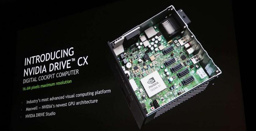 NVIDIA DRIVE CX brings a digital cockpit computer to your car