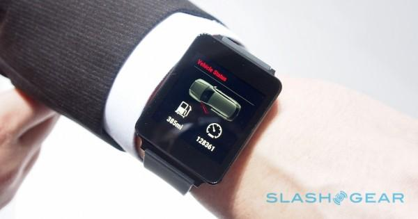Audi Android Wear smartwatch
