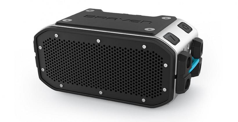 "Braven BRV-PRO ""tank-like"" speaker brings outdoor accessories"
