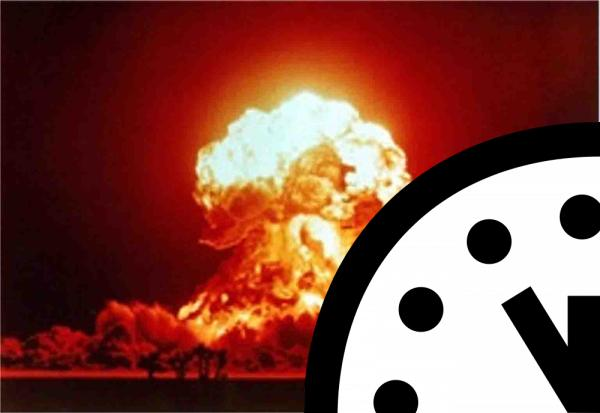 We're three minutes from Doomsday