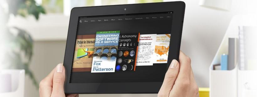 Amazon Kindle Textbook Creator lets users create educational content