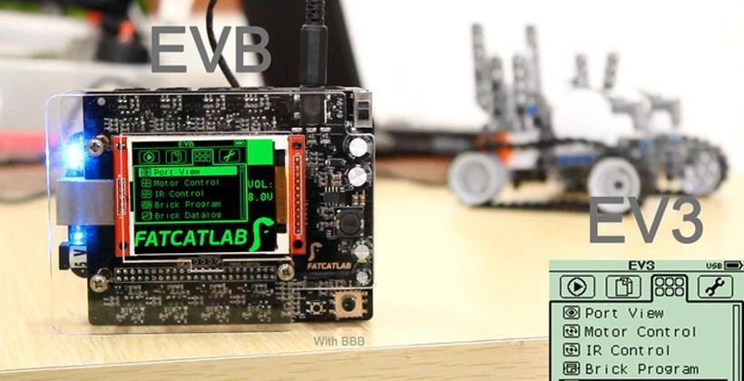 EVB puts BeagleBone in your LEGO EV3 projects