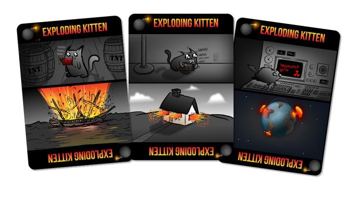 The Oatmeal's Exploding Kittens card game sets Kickstarter on fire