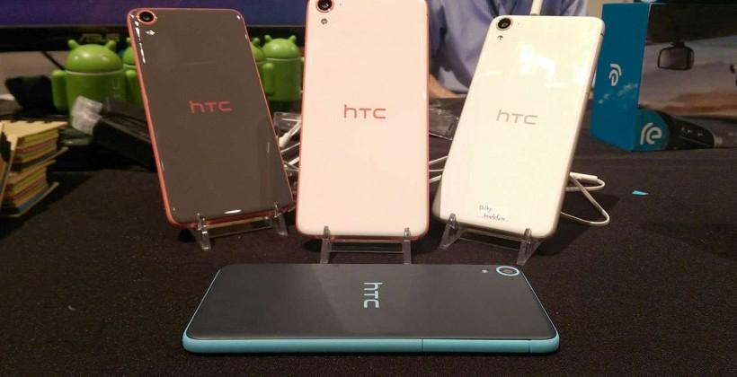 HTC Desire 826 hands-on: Ultrapixel selfie machine