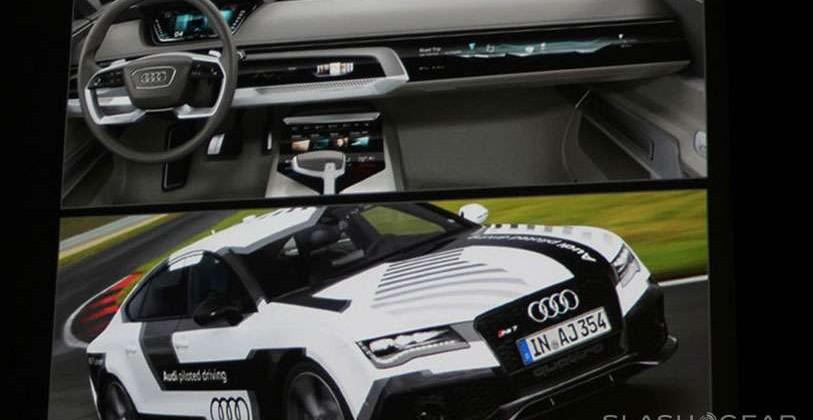 Audi Prologue bringing NVIDIA DRIVE CX to the streets