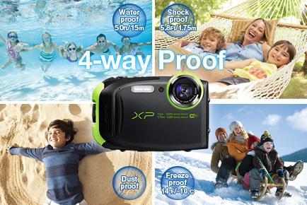 Fujifilm FinePix XP80 lets you shoot anytime, rain or shine