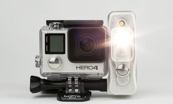 Light & Motion's Sidekick adds light to your GoPro