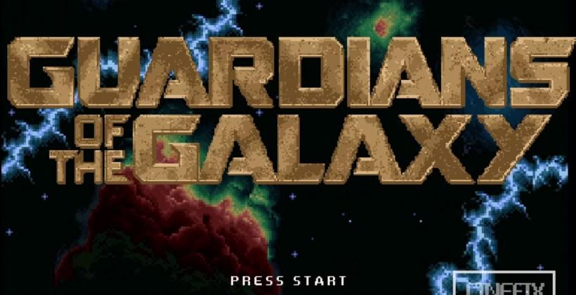 Guardians of the Galaxy: 8-bit Cinema version