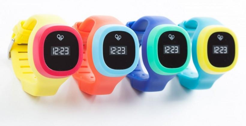 hereO: a colorful GPS smartwatch for kids