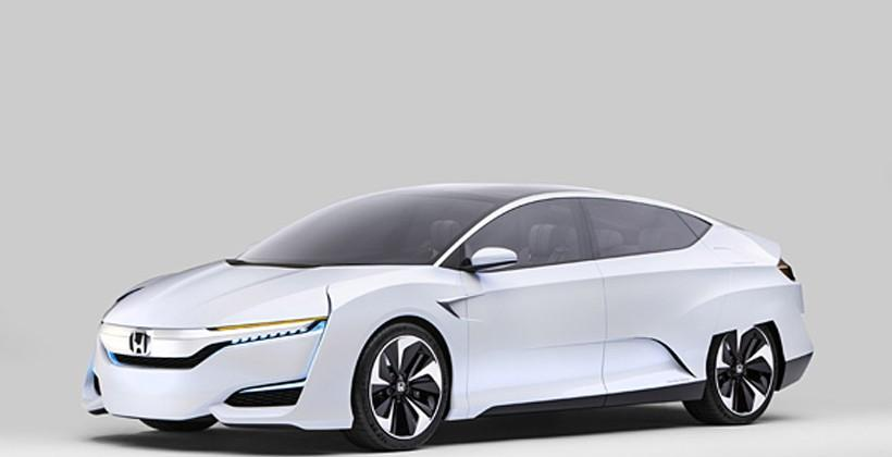 Honda FCV Concept debuts along with plans for Advanced Powertrains
