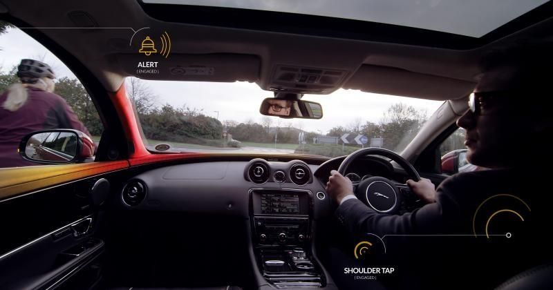 "Jaguar Land Rover ""Bike Sense"" aims to save cyclists' lives"